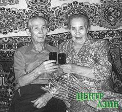 Супруги. Последнее совместное фото. 2000 год, 24 декабря, День рождения Варвары Ермиловны.