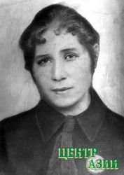 Ульяна Сергеевна Ядрошникова. 1936 год.г. Кызыл